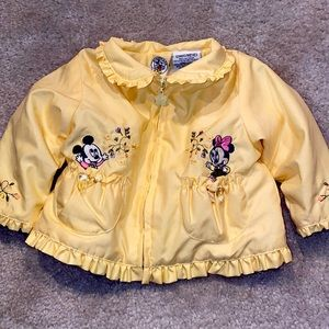 🛍 Adorable Mickey&Co coat size 12 months